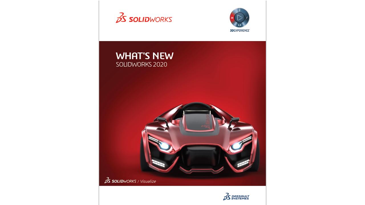 Kas naujo SOLIDWORKS 2020 dokumentacija anglų kalbą (PDF, 213 psl.)