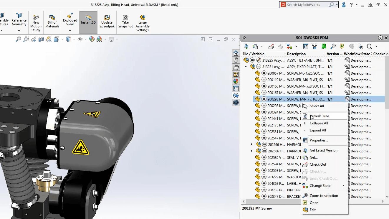 SOLIDWORKS PDM Standard CAD